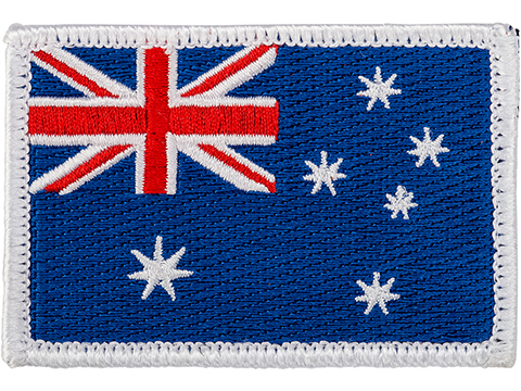 Matrix Country Flag Series Embroidered Morale Patch (Country: Australia)