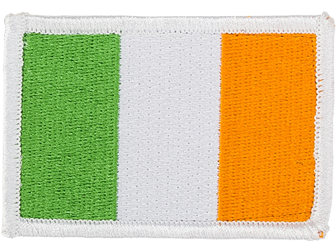 Matrix Country Flag Series Embroidered Morale Patch (Country: Ireland)