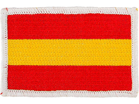 Matrix Country Flag Series Embroidered Morale Patch (Country: Spain)