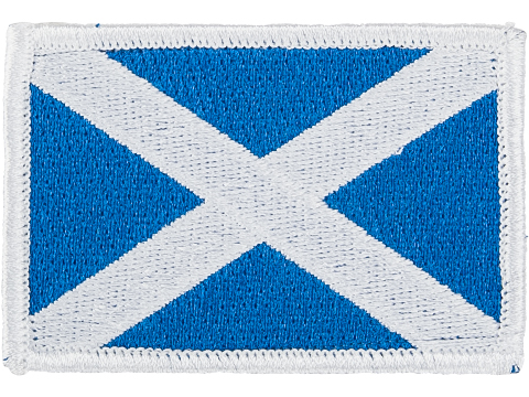 Matrix Country Flag Series Embroidered Morale Patch (Country: Scotland)
