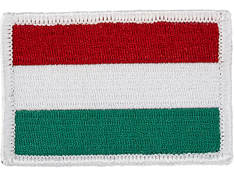Matrix Country Flag Series Embroidered Morale Patch (Country: Hungary)
