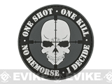 One Shot, One Kill PVC Morale Patch