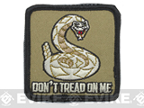 Rothco Don't Tread On Me Hook and Loop Patch