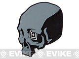 z 5.11 Tactical Skull Shot PVC Rubber Hook & Loop Morale Patch - Black