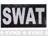 Reflective SWAT Patch - Black