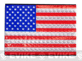 Reflective US Flag Patch - Full Color / Regular