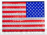 Matrix Reflective US Flag Patch (Color: Full Color / Reverse)