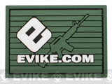 Official Licensed Evike.com Elite B.A.M.F. PVC Velcro Patch - Type B