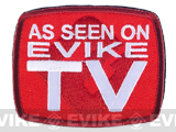 "Evike TV ""As Seen on Evike TV"" IFF Hook and Loop Morale Patch"