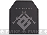 Dummy Trama Plate Strike Face PVC IFF Hook & Loop Tactical Patch