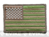 Matrix Velcro U.S. IFF Flag Patch - Regular - Land Camo (Matches Multicam)
