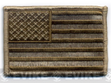 Matrix Velcro U.S. IFF Flag Patch - Regular. (Tan)