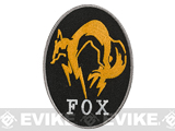 High Quality Embroidered IFF Hook and Loop Patch - FOX