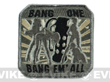 "Mil-Spec Monkey ""Bang One, Bang Em All"" Patch - (Large / ACU)"