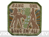 "Mil-Spec Monkey ""Bang One, Bang Em All"" Patch - (Large / Arid)"