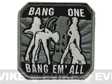 "Mil-Spec Monkey ""Bang One, Bang Em All"" Patch - (Large / SWAT)"