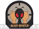 PVC IFF Hook and Loop Morale Patch - Alien Hunter