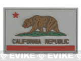 California PVC Flag Patch