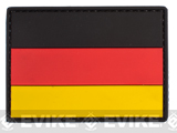 PVC Hook and Loop International Flag Patch (Flag: Germany)