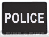 PVC Hook and Loop Patch - POLICE
