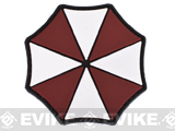 Tactical Fan Inspired PVC Hook and Loop Patch - Umbrella Corp