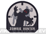 Zombie Hunter IFF PVC Rubber Velcro Patch - 70mm / SWAT