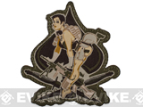 "Mil-Spec Monkey ""Aces High"" Velcro Patch - Multicam"