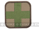 Condor Embroidered Medic Hook & Loop Patch (Color: Multi Camo)