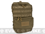 Pro-Arms Plate Carrier Back Bag (Color: Coyote Brown)