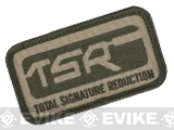 z SureFire® Embroidered TSR Logo Velcro® Patch - OD / Tan