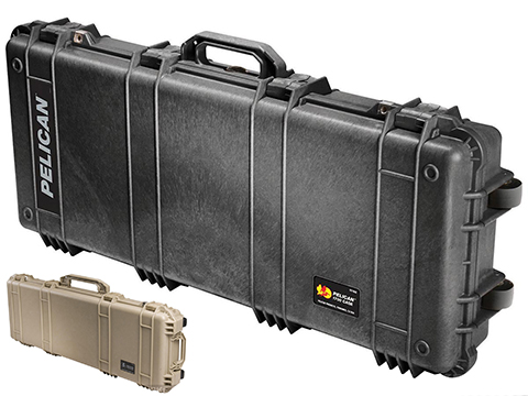 Pelican™ 1700 WL/WF w/ Foam Long Rifle Case w/ Wheels