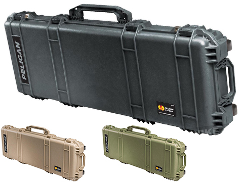 Pelican™ 1720 WL/WF w/ Foam Long Rifle Case w/ Wheels