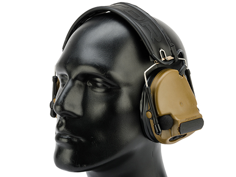 Peltor COMTAC III Hearing Defender w/ Gel Ear Cups (Color: Coyote Brown)