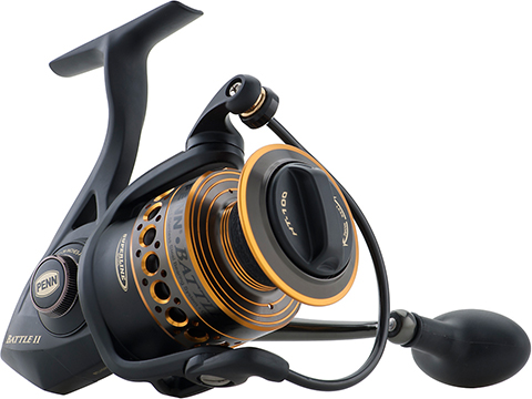 Penn Battle II Ambidextrous Reversible Spinning Fishing Reel
