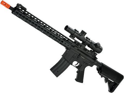 Golden Eagle Sportsline M4 Airsoft AEG with 15 Keymod Handguard