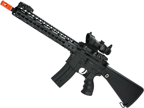 Golden Eagle Polymer M4 DMR Airsoft AEG with 13 Keymod Handguard