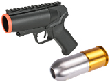 6mmProShop Airsoft Pocket Cannon Grenade Launcher Pistol (Package: Launcher + Multi-Purpose Shell)