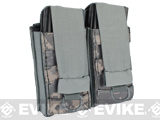 Black Owl Gear / Phantom Aggressor MOLLE Ready M4 AK MP5 Magazine Pouch - Double / ACU