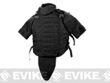 Black Owl Gear / Phantom Interceptor Replica Modular OTV Vest (Color: Black / X-Large)