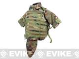 Phantom Interceptor Modular OTV Plate Carrier - Medium / Woodland Camouflage