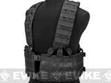 Black Owl Gear / Phantom Operator Load Bearing High Speed Chest Rig (Color: Black)