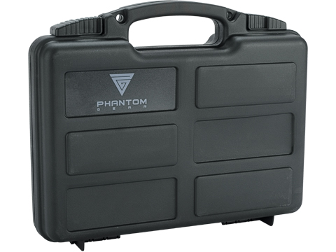 Phantom Gear Armory Series Pistol Case w/ Customizable Grid Foam