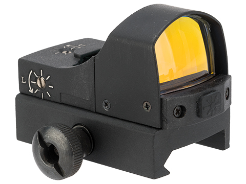 Black Owl Gear Auto Brightness Adjustment Micro Red Dot Sight w/ QD mount