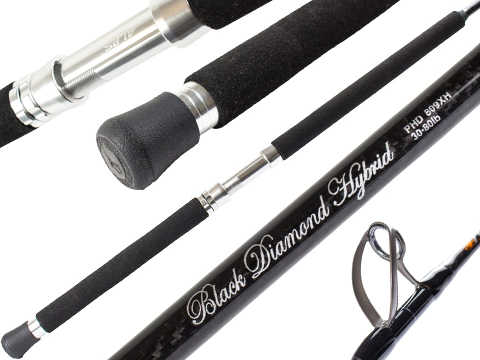 Phenix Black Diamond Hybrid Offshore Conventional Fishing Rod