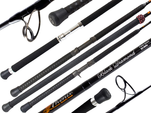 Phenix Black Diamond Spinning Fishing Rod