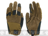 PIG Full Dexterity Tactical (FDT) Bravo Fire Resistant Gloves - Coyote (Size: Large)