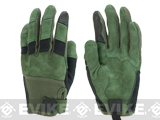 PIG Full Dexterity Tactical (FDT) Bravo Fire Resistant Gloves - Ranger Green (Size: Medium)