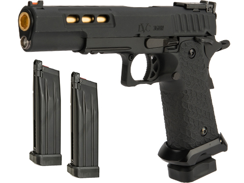 EMG / STI International™ DVC 3-GUN 2011 Airsoft Training Pistol (Model: CO2 / Reload Package)