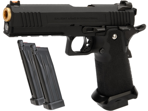 EMG / Salient Arms International™ RED Hi-Capa Training Weapon (Model: Aluminum Select Fire / CO2 / Reload Package)