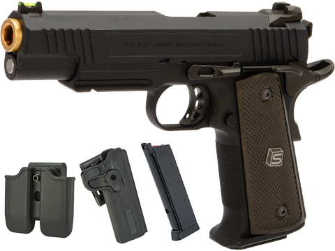 EMG / Salient Arms International™ RED 1911 Training Weapon (Model: Aluminium / Gas / Carry Package)